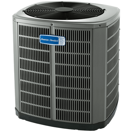 American Standard Variable Speed Platinum 18 Air Conditioner.
